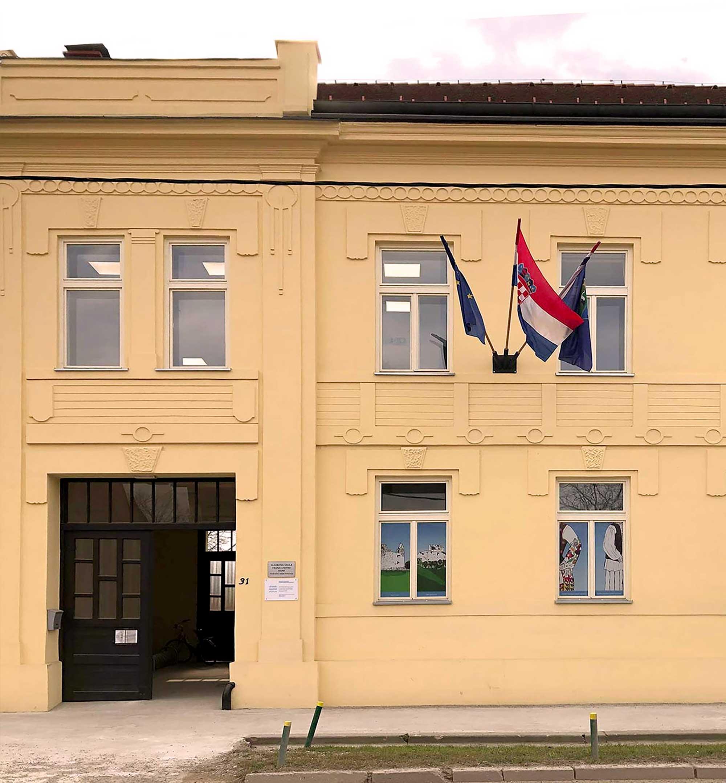 Glazbena škola Frana Lhotke, područni odjel Petrinja